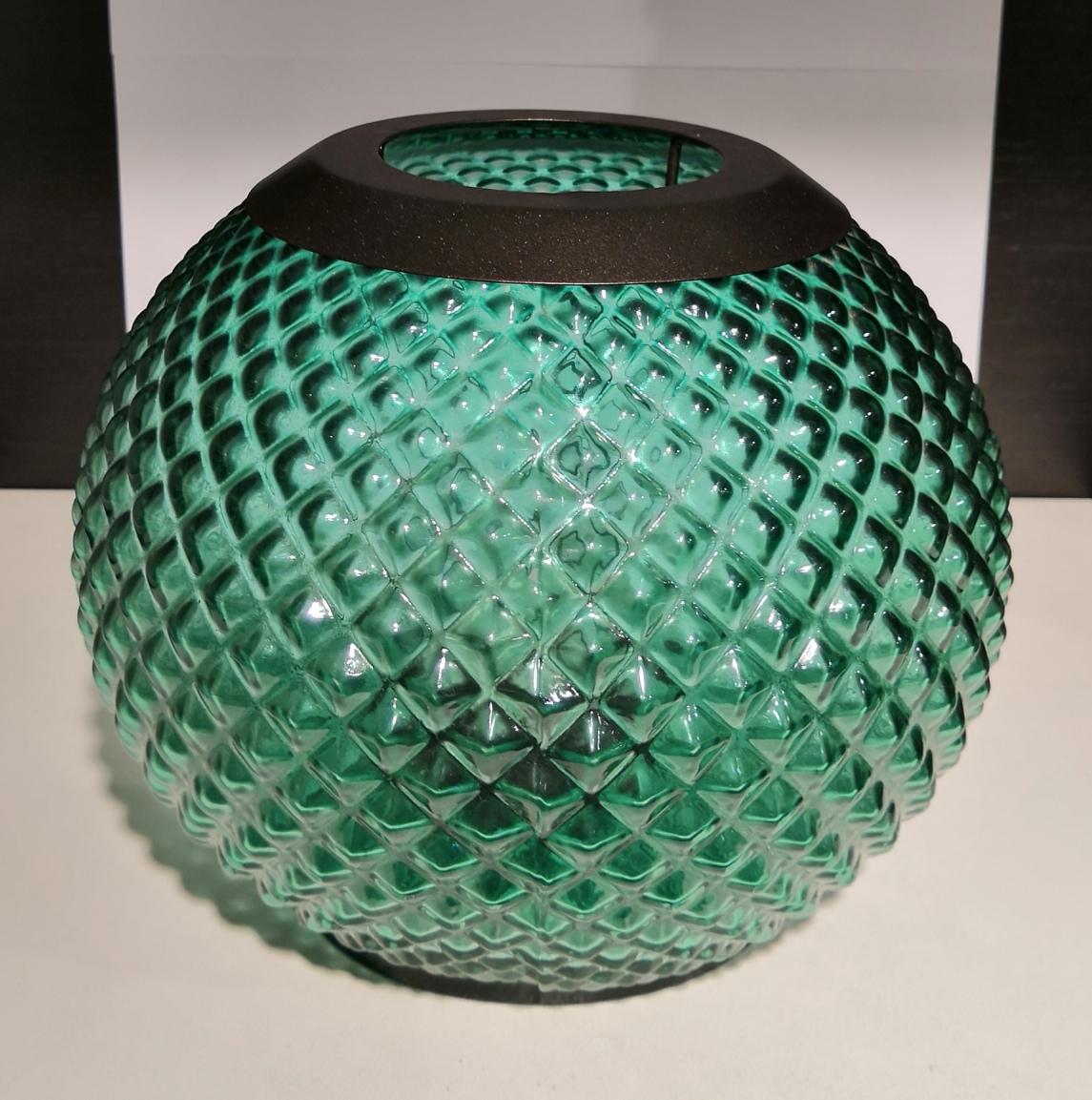 17.9x17.7x16.7 cm Arancione YANKEE CANDLE 1507914 Monterosso Votive Holder Lanterns Porta Sampler