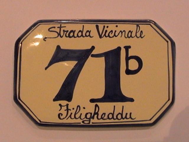 Numero civico ceramica numeri civici componibili con cornice